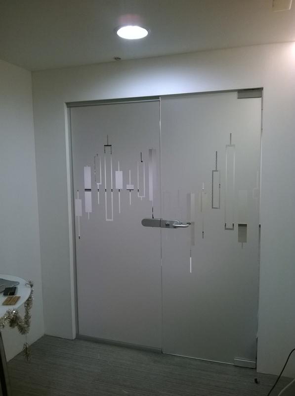 Üveg dekoráció